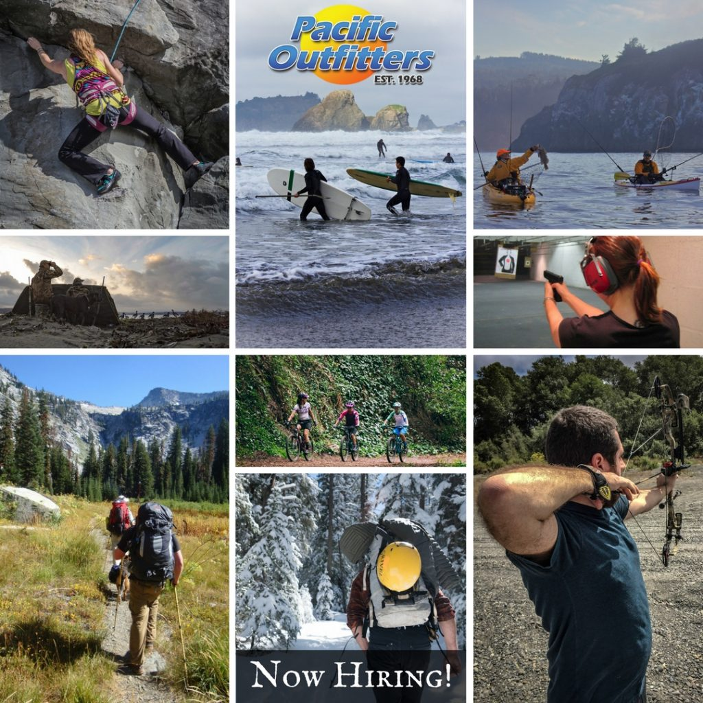 Employment - Now Hiring - Jobs - Pacific Outfitters